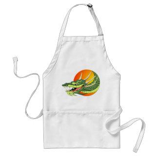 dragon head apron