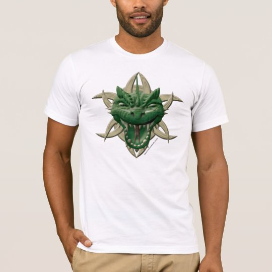 Dragon Head - Green T-Shirt