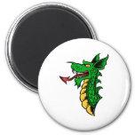 Dragon Head Refrigerator Magnet