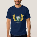 Dragon heart with cross t-shirt