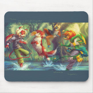 Dragon Heroes - Goodtimes Will Never Be Forgotten Mouse Pad