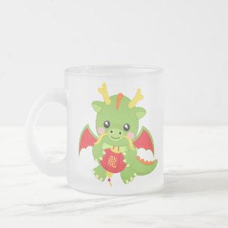 Dragon Holding Lantern Coffee Mugs