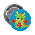 Dragon Holding Lantern Pins