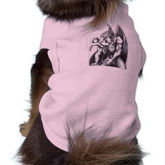 Dragon Hunched Dog Tee Shirt