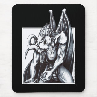Dragon Hunched Mouse Pad