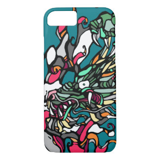 Dragon Illustration iPhone 7 Case
