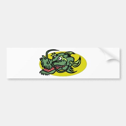 Dragon Image 35 Bumper Sticker