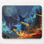 Dragon In Battle Mouse Mat