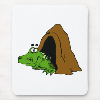 Dragon in Cave Mouse Pad