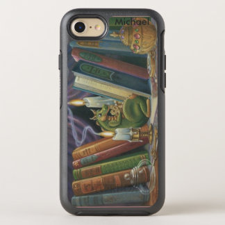 Dragon in Library OtterBox Symmetry iPhone 8/7 Case
