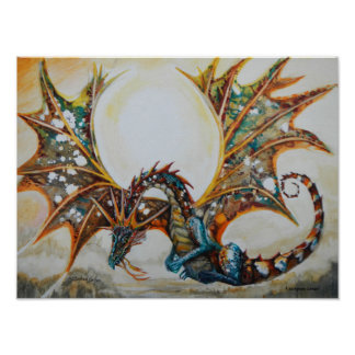Dragon in the Sky Poster