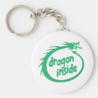 Dragon Inside Key Chains