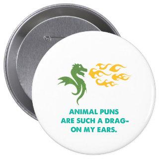 Dragon Joke 10 Cm Round Badge