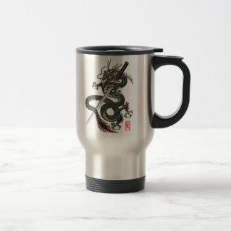 Dragon katana travel mug