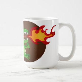 Dragon kids art by little t and M.E. Volmar Coffee Mug
