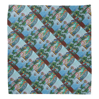 Dragon King Patterned Kerchief