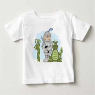 Dragon Knight 1st Birthday Baby T-Shirt
