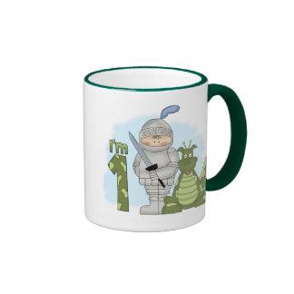 Dragon Knight 1st Birthday Coffee Mug