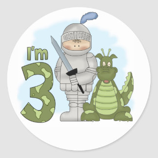 Dragon Knight 3rd Birthday Round Sticker