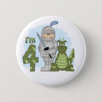 Dragon Knight 4th Birthday 6 Cm Round Badge