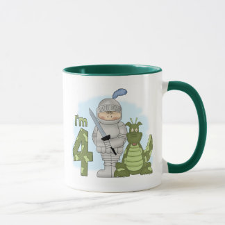 Dragon Knight 4th Birthday Mug