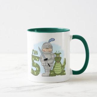 Dragon Knight 5th Birthday Mug