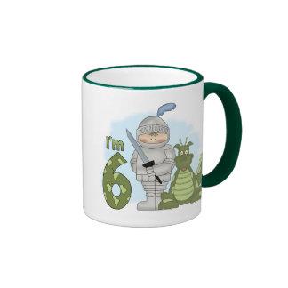 Dragon Knight 6th Birthday Mugs