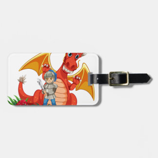 Dragon knight bag tag