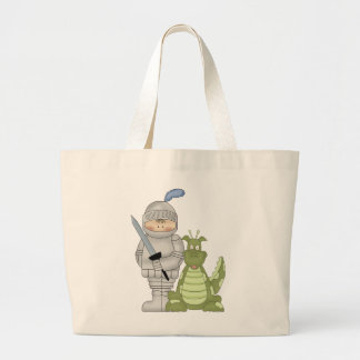 Dragon Knight Large Tote Bag