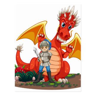 Dragon knight postcard