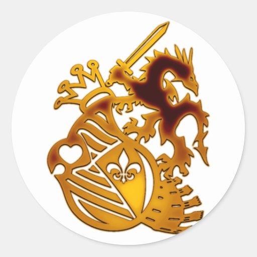 Dragon_Knight Sticker