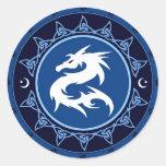 Dragon Knot 1 Round Sticker
