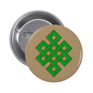 Dragon Knot II 6 Cm Round Badge