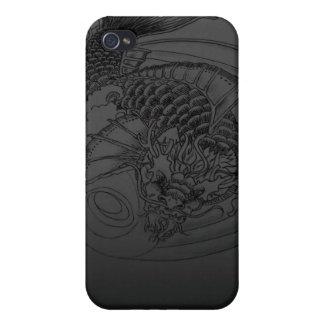 Dragon Koi tattoo Design iPhone 4 Covers