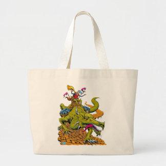 Dragon Library Jumbo Tote Bag