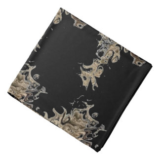Dragon like art on a bandana