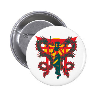 Dragon Lilly Button
