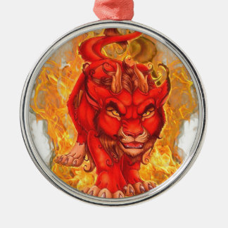 dragon-lion christmas ornament