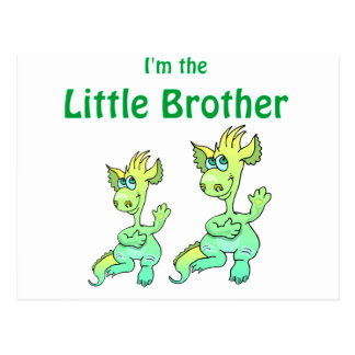 dragon little brother post card