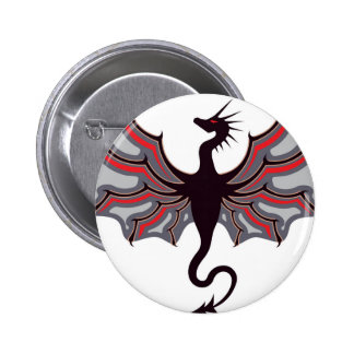 Dragon Logo 6 Cm Round Badge