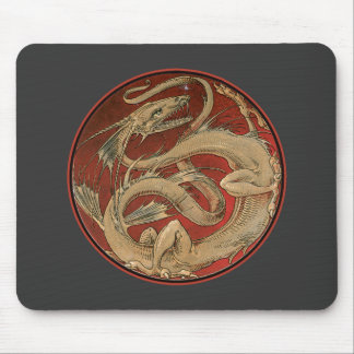 Dragon Lore Art Nouveau Mouse Pad