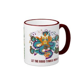 Dragon  Louisiana Coffee Mugs