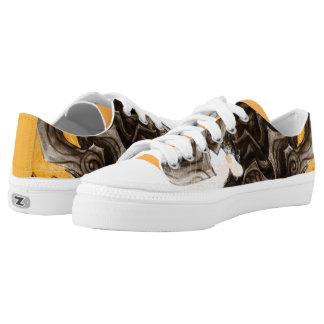 Dragon Low Top Shoes Men 4 / Women 6 Printed Shoes