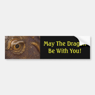 Dragon Luck Mall Bumper Sticker