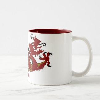Dragon Luck Mall Two-Tone Coffee Mug
