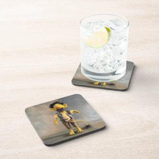 Dragon Mache Mountain Troll Drink Coasters