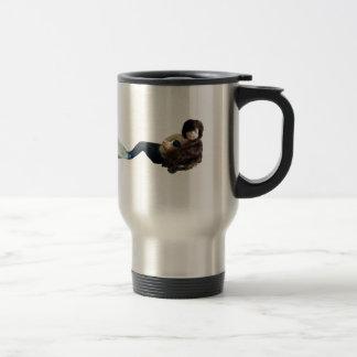 Dragon Mache Tiny Mermaid Mug