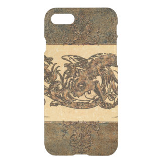 Dragon made of rusty metal w iPhone 7 case