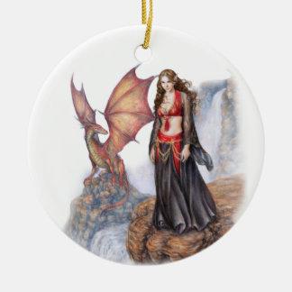Dragon Maiden Ornament