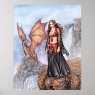Dragon Maiden Poster